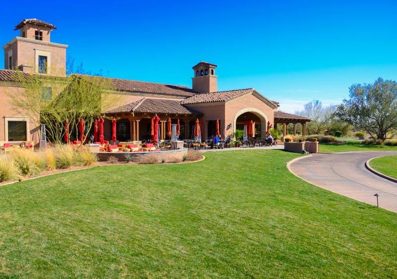 Raven Golf Course Club House stockfotografie