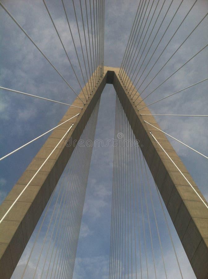 Ravenel桥梁 免版税图库摄影