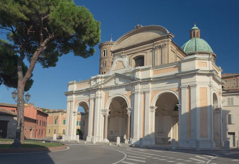 Ravenna. Duomo stock fotografie
