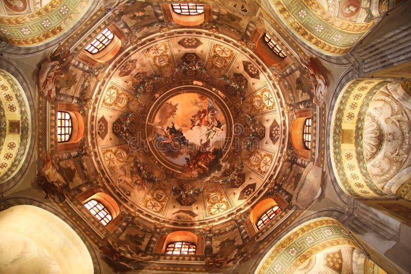 Ravenna, San Vitale, mosaico, Italy fotos de stock royalty free