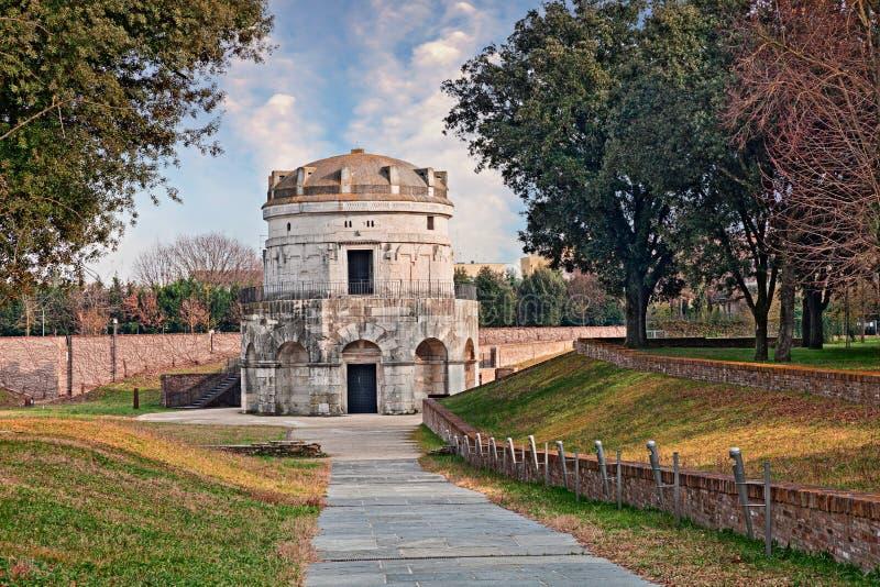 Ravenna, Włochy: mauzoleum Theodoric zdjęcia royalty free