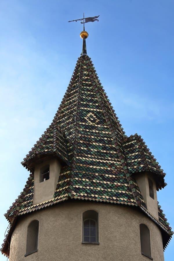 Ravensburg är en stad i Tyskland royaltyfria foton