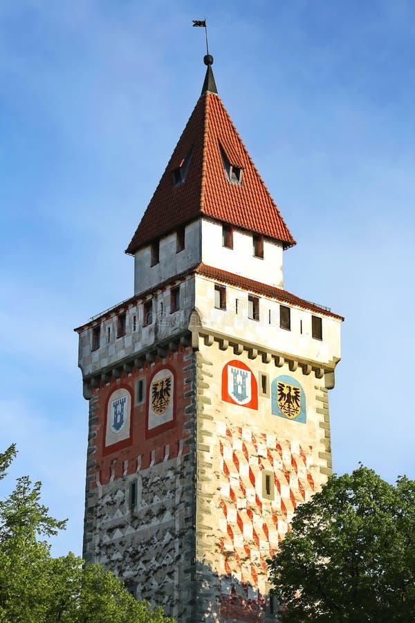 Ravensburg är en stadsTyskland arkivbilder