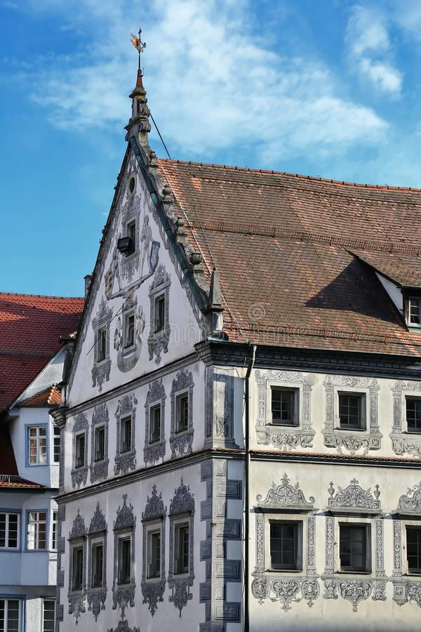 Ravensburg is a city in Germany. Ravensburg Germany - 05 10 2015: Ravensburg is a city Germany, with many historical attractions stock images