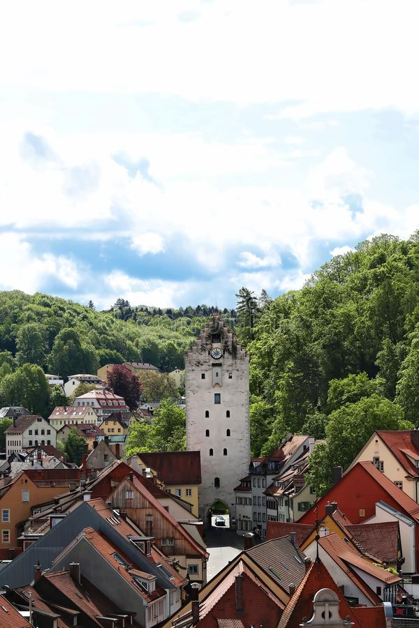 Ravensburg is a city in Germany. Ravensburg Germany - 05 10 2015: Ravensburg is a city Germany, with many historical attractions stock photo
