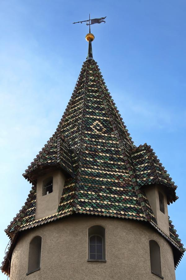 Ravensburg is a city in Germany. Ravensburg Germany - 05 10 2015: Ravensburg is a city Germany, with many historical attractions royalty free stock photos