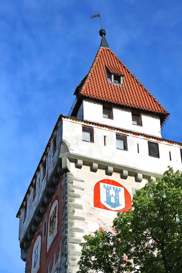 Ravensburg jest miastem Niemcy fotografia stock