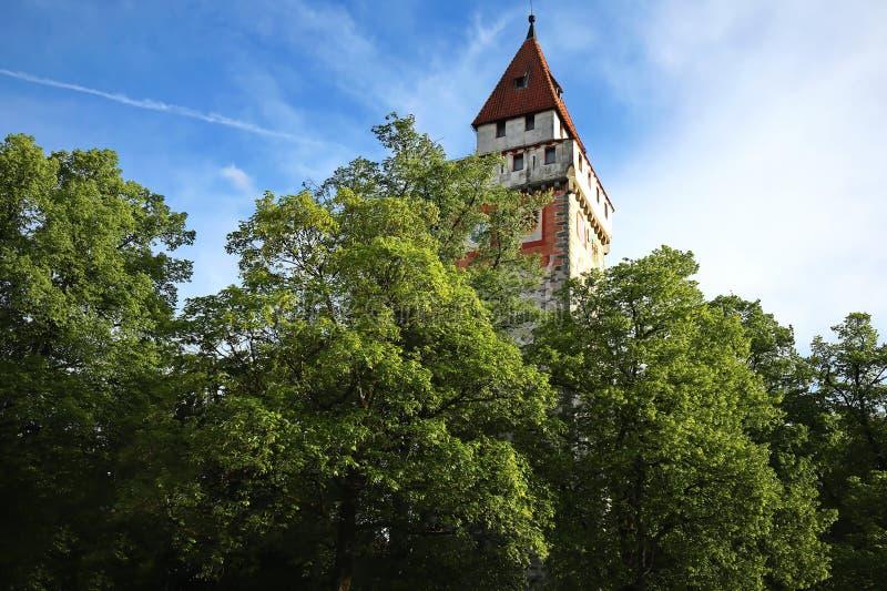 Ravensburg jest miastem Niemcy fotografia royalty free