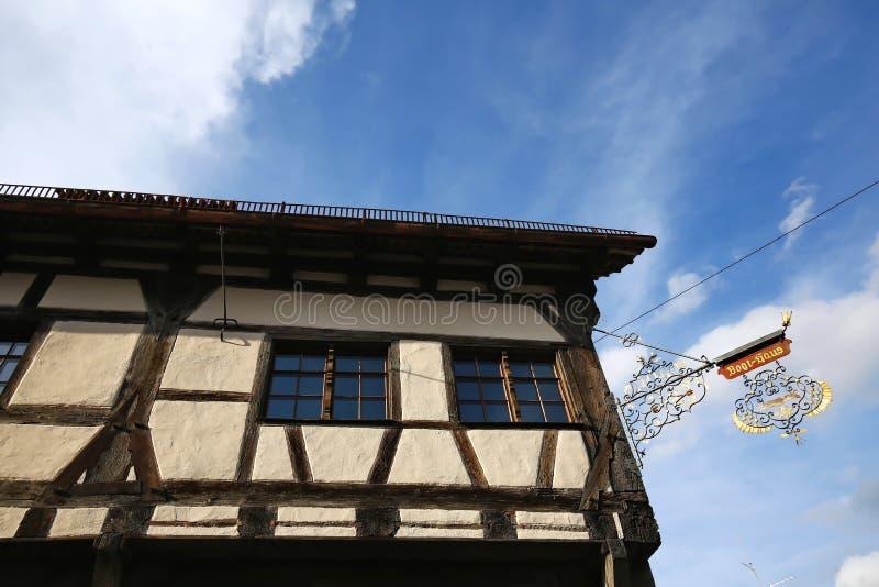 Ravensburg jest miastem Niemcy obrazy stock