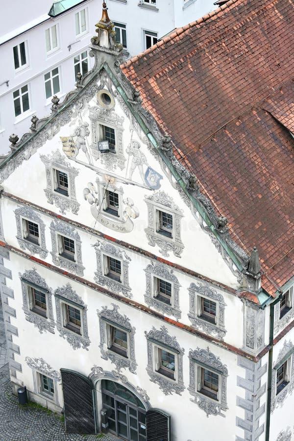 Ravensburg jest miastem Niemcy obrazy royalty free