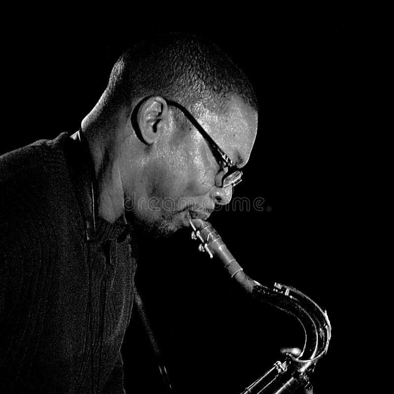 Ravi Coltrane 2009 imagem de stock royalty free