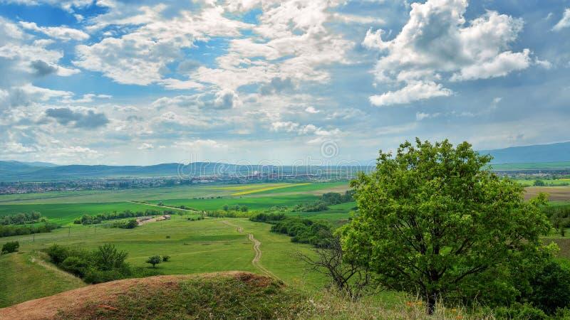 Ravin rouge - Sebes Roumanie image stock