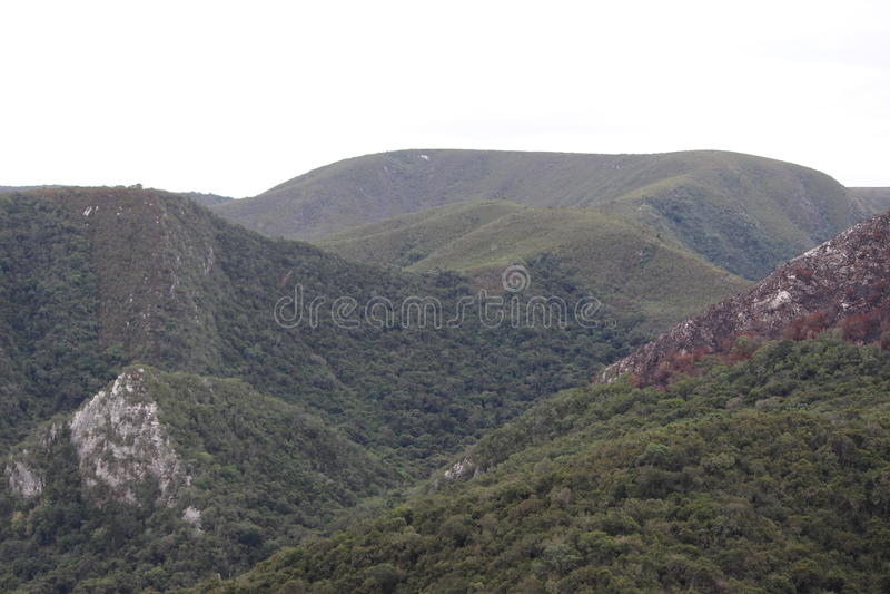 Ravinas nas montanhas fotografia de stock royalty free