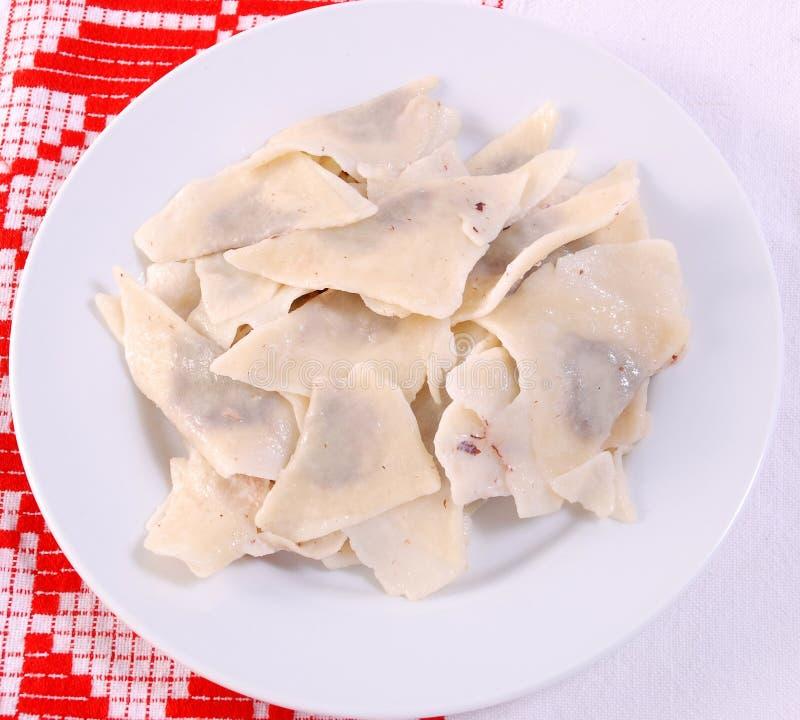 ravioli βασικών γίνοντα μαρμελάδ στοκ φωτογραφία με δικαίωμα ελεύθερης χρήσης