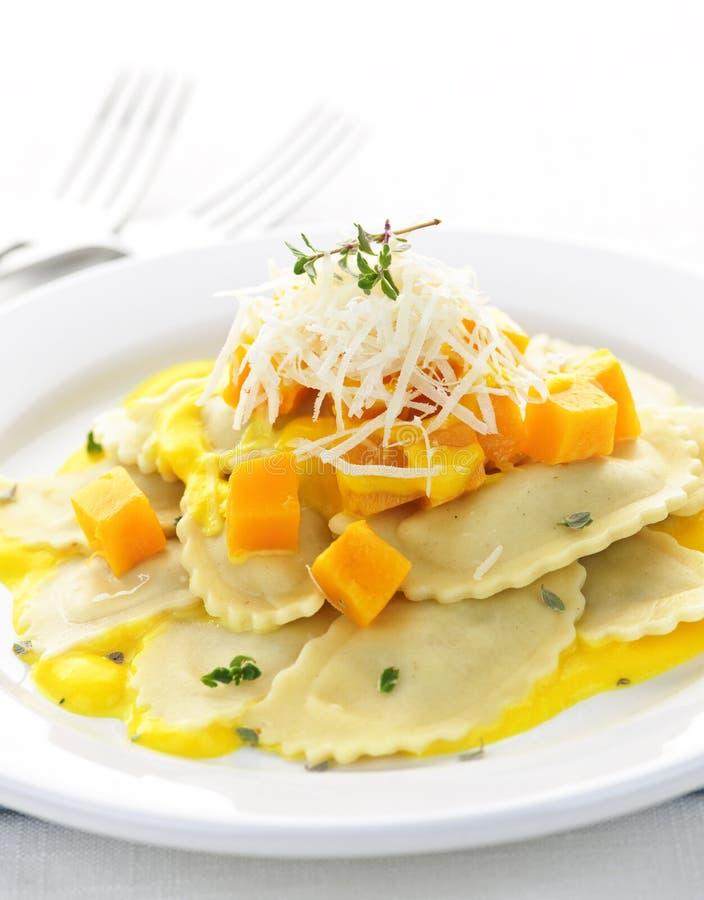 ravioli обеда стоковое изображение