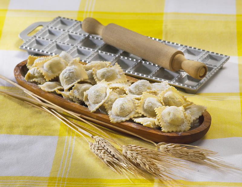Ravioli stock photography