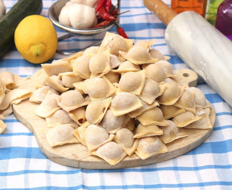 ravioli stock foto