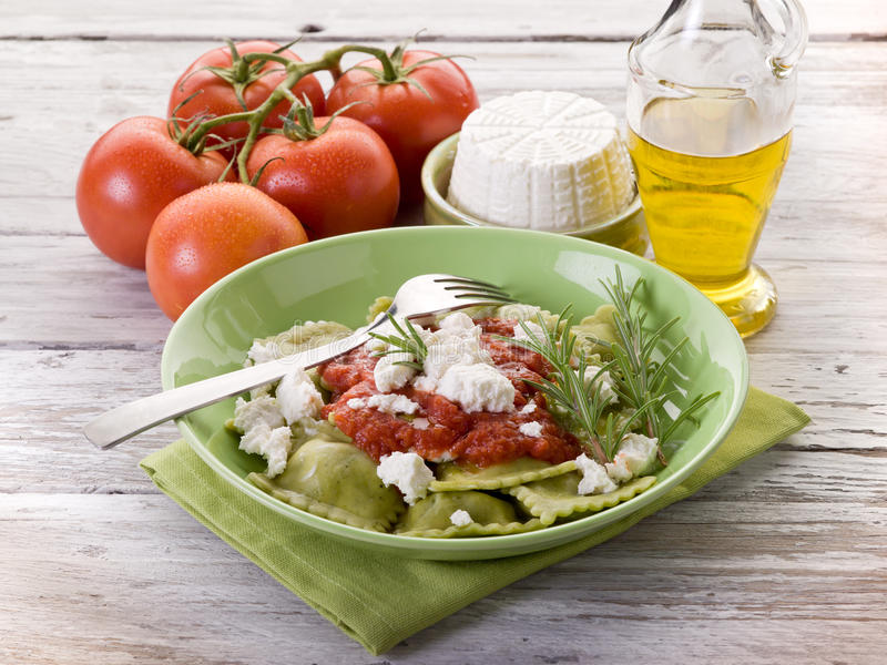Download Ravioli  with ricotta stock photo. Image of food, lunch - 22009696