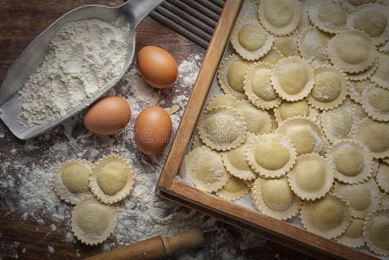 Pastas stock photo