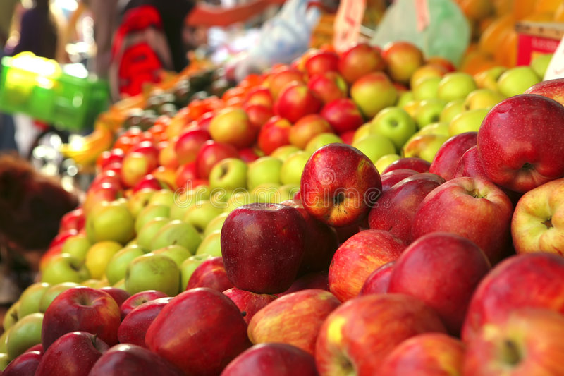 Download Raw Apple Heaps Perspective Stock Photo - Image: 8615880