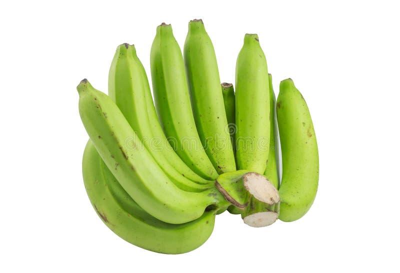 Raw bananas royalty free stock photos