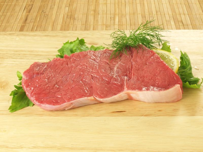 Raw beef stock photography