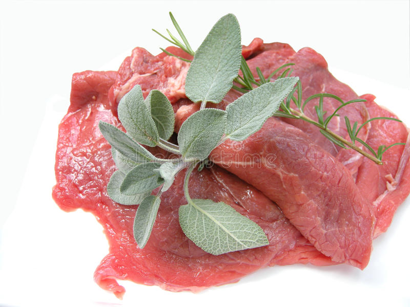 Raw Beef Fillets Royalty Free Stock Photo