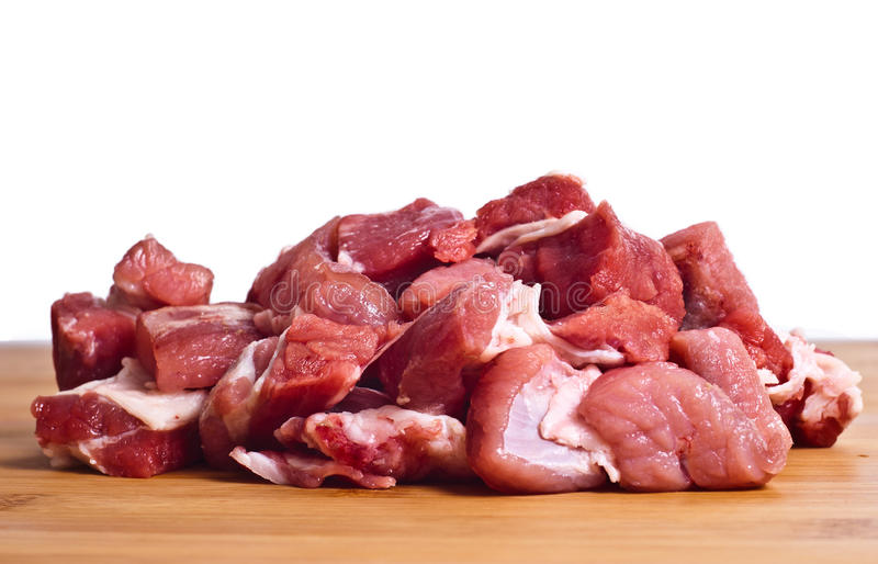 Raw Beef Isolated Royalty Free Stock Image