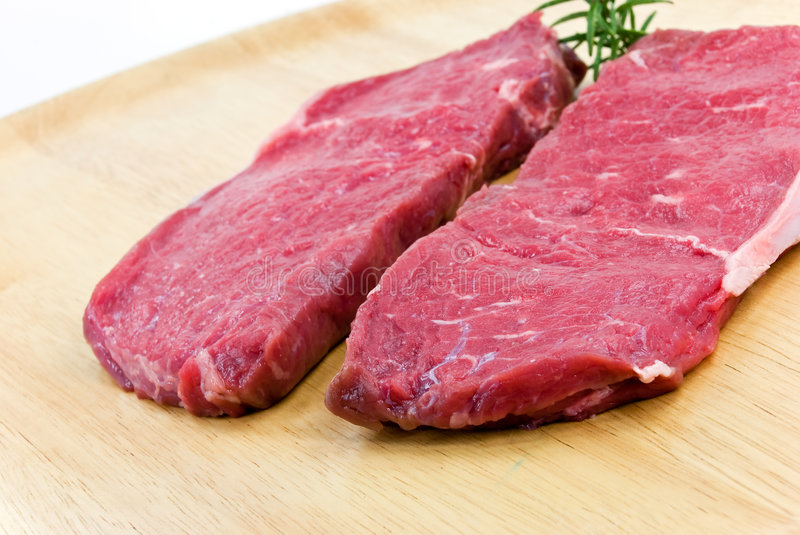 Download Raw Beef-roast Beef Meat Steak On The Wooden Backg Stock Image - Image: 8026289