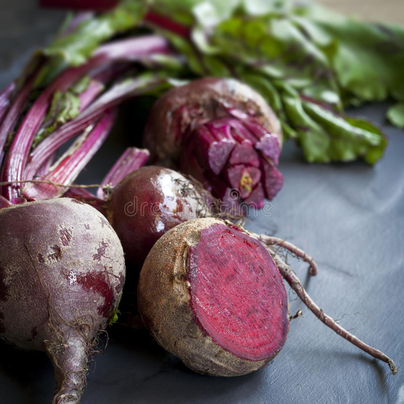 Raw Beetroot stock images