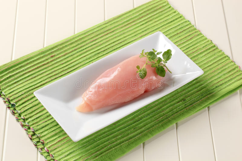 Raw Chicken Breast Stock Photography