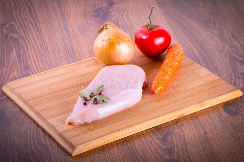 Raw Chicken Breast Royalty Free Stock Image