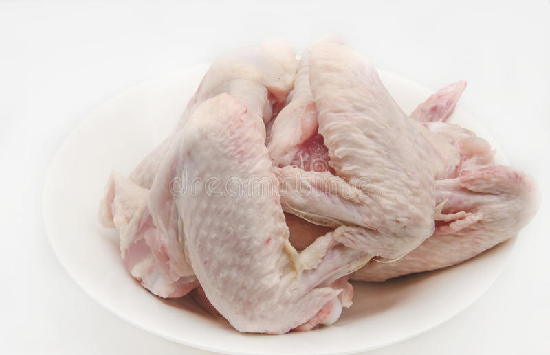 Raw chicken stock photography