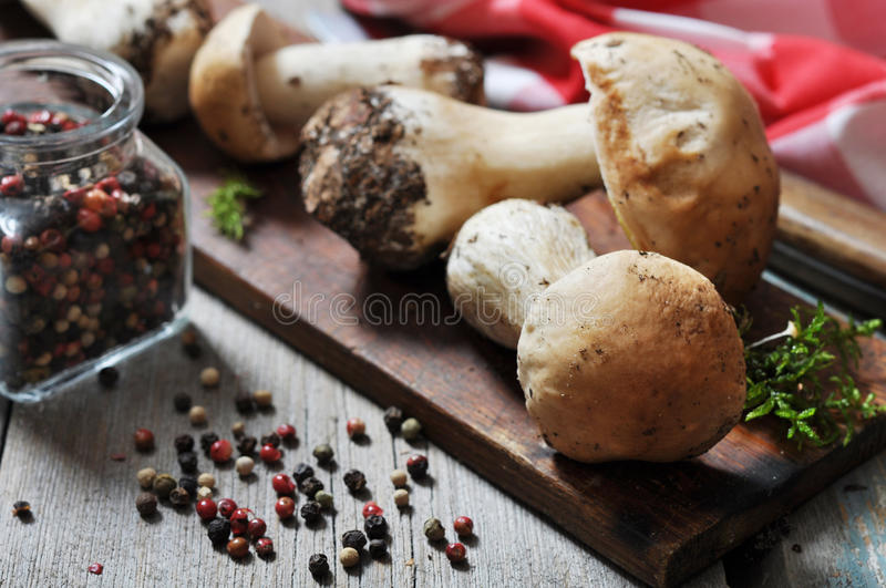Download Raw dirty cep stock image. Image of vegetable, rustic - 34198589