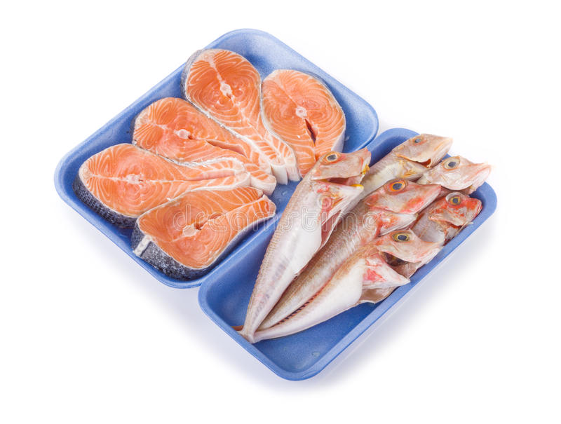 Download Raw fish stock image. Image of drink, packaging, prepared - 27058575