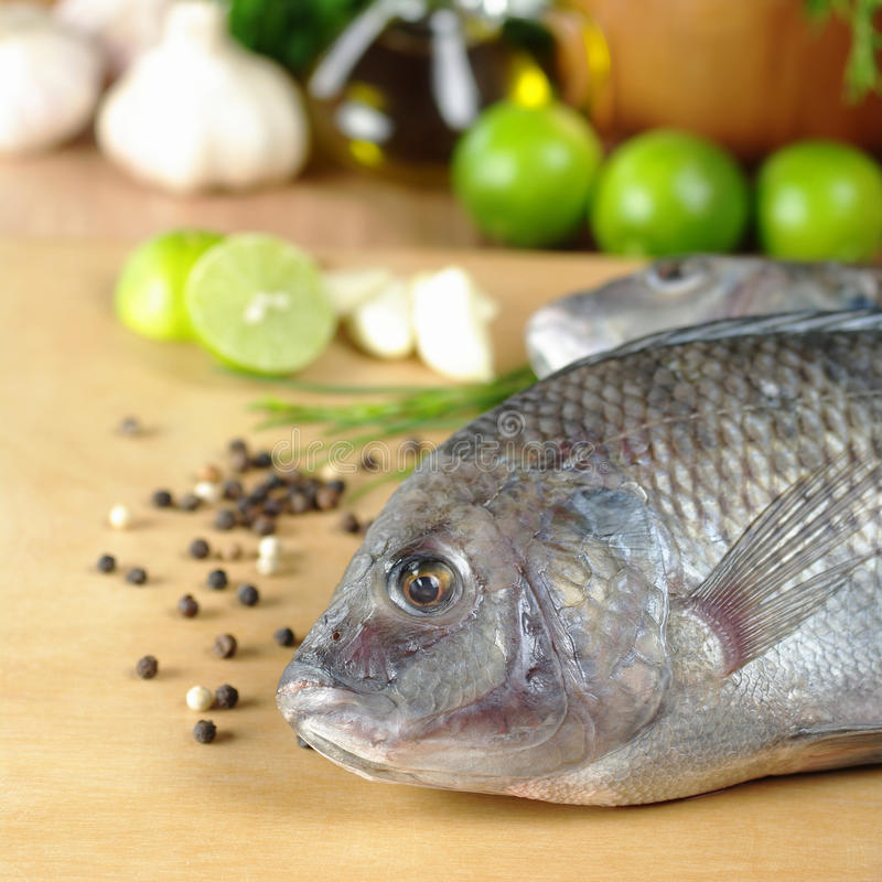Download Raw Fish Called Tilapia Royalty Free Stock Image - Image: 18665536