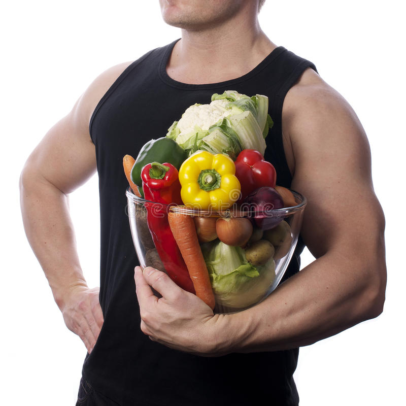 Raw food stock image
