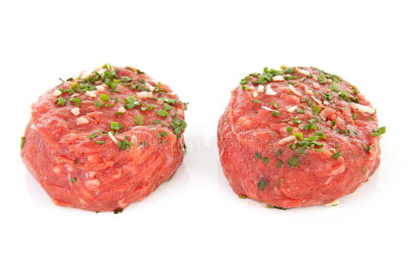 Raw german beef royalty free stock photo