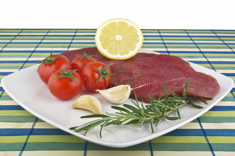 Raw horse meat royalty free stock images