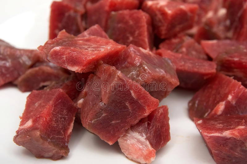 Download Raw meat stock photo. Image of slices, cooking, closeup - 13497066