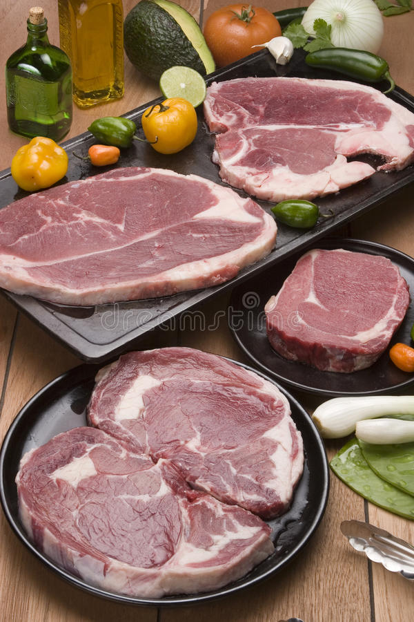 Download Raw meat stock photo. Image of beefsteak, food, dinner - 18462564