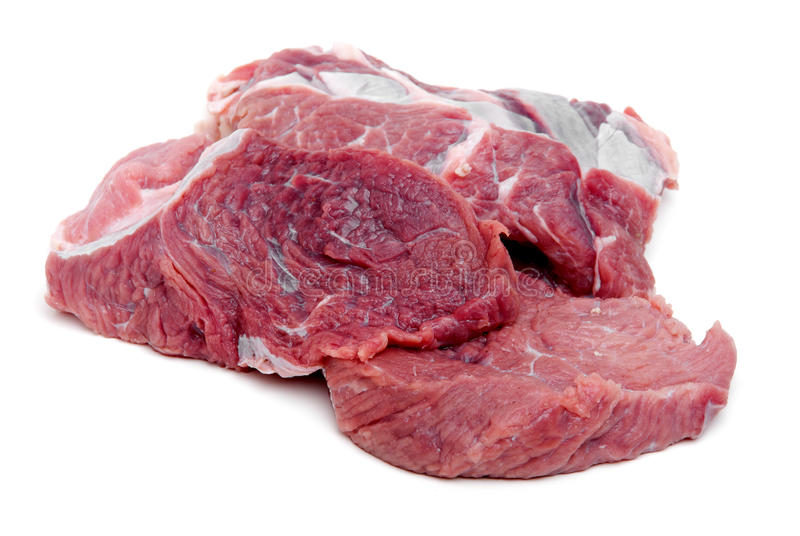 Download Raw Meat stock image. Image of butcher, white, bloody - 21048881