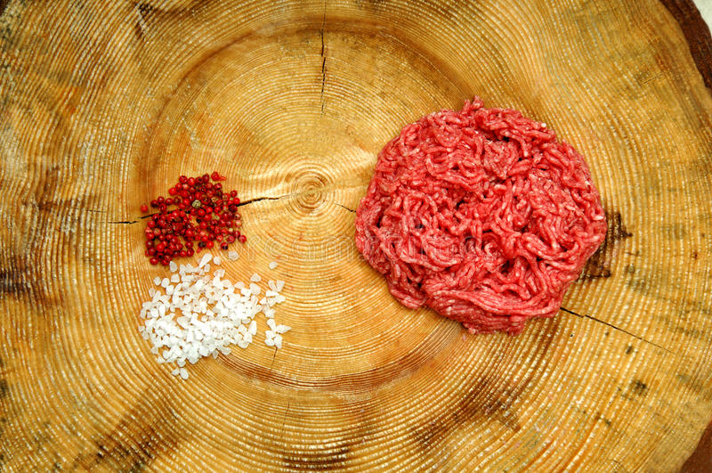 Download Raw minced meat stock image. Image of close, freshness - 25081929