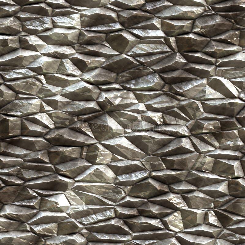 Raw minerals stock illustration