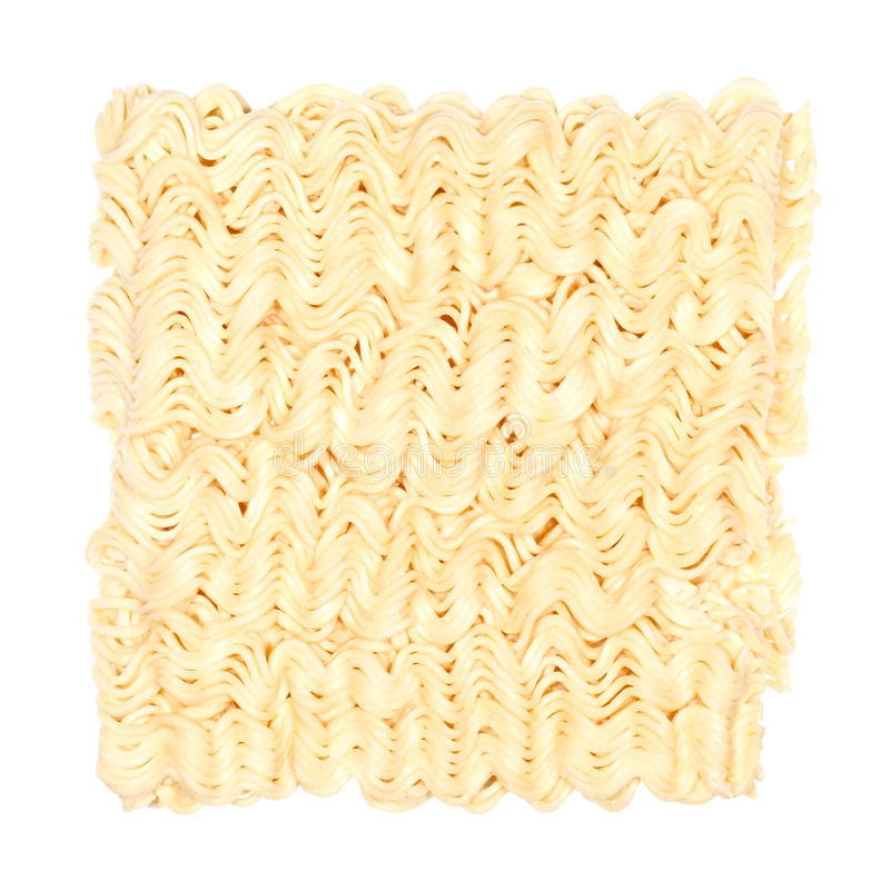 Raw Noodles Royalty Free Stock Photos