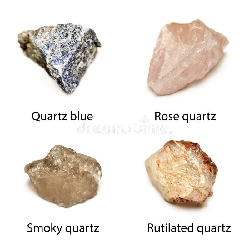 Raw quartz royalty free stock image