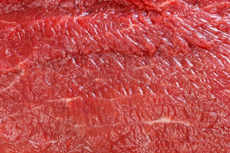 Raw red beef meat macro texture or background.  royalty free stock photo
