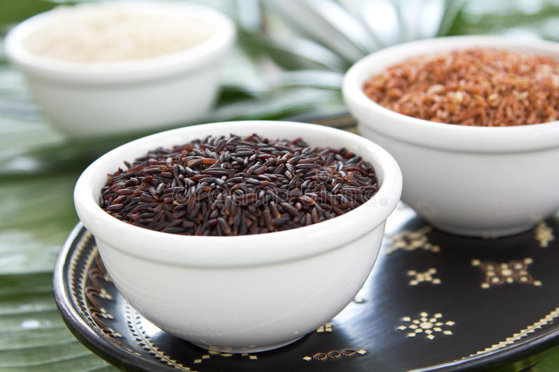 Download Raw rice stock photo. Image of ingredient, texture, black - 23838902