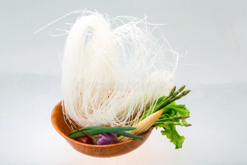 Download Raw rice noodles stock photo. Image of lunch, asia, dried - 39505086