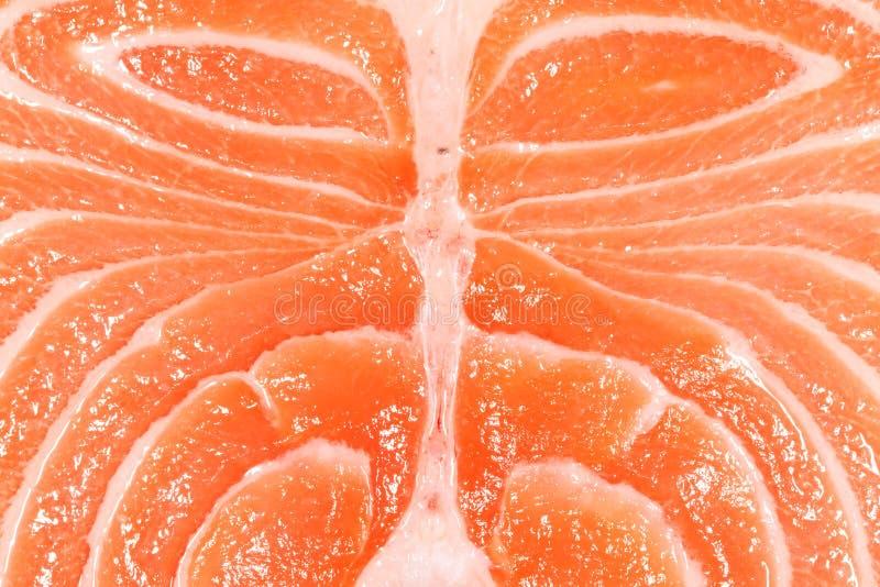 Raw Salmon Texture royalty free stock photography
